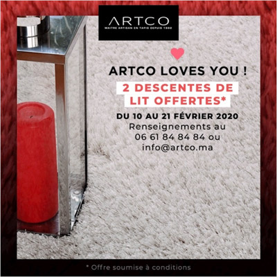 ARTCO <br /> LOVES YOU !