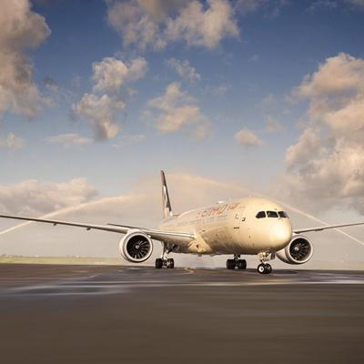 ETIHAD AIRWAYS <br /> NOUVEAU BOEING