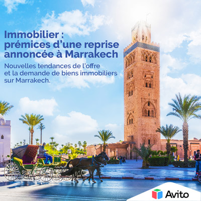IMMOBILIER <br />REPRISE À MARRAKECH