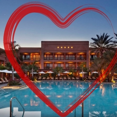PALMERAIE ROTANA RESORT <br />PACKAGE SAINT-VALENTIN