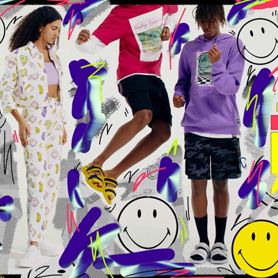 PULL&BEAR <br />SMILEY COLLECTION CAPSULE