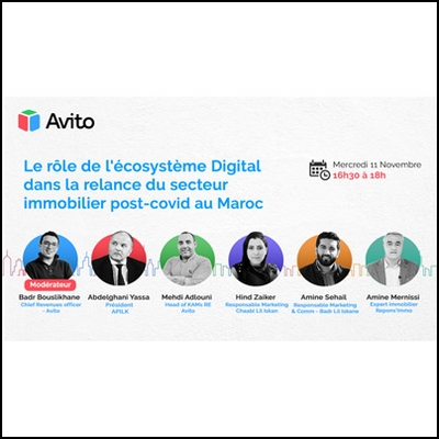 AVITO <br />IMMOBILIER ET DIGITAL