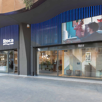 ROCA <br />RÉVOLUTIONNE SON SHOWROOM
