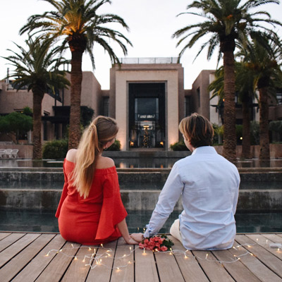 FAIRMONT ROYAL PALM MARRAKECH <br />CÉLÈBRE L'AMOUR